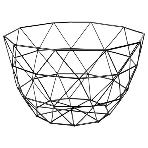 draadmand laag model metaal 31x17cm