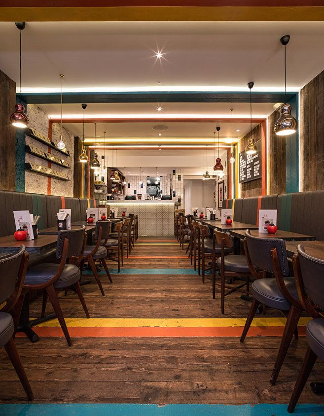 Gourmet Burger Kitchen (Notting Hill, London, UK) / moreno:masey - Restaurant & Bar Design Awards