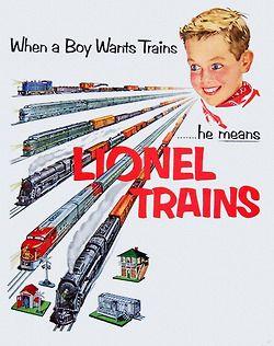 chipwilkerson:  Lionel Trains - 1952