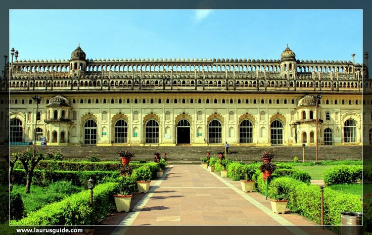 The Bada Imambara was built by Asaf-ud-Daula, the Nawab of Lucknow, in 1784. Often referred to as Asafi Imambara, it is a shrine built by Shia Muslims for the purpose of Azadari.  Classified as Nawabi architecture, the edifice is part of the Asaf-ud-Daula Imambara Complex that contains a mosque, courtyards, gateways and a 'bawali' or step-well that was used as a summer palace.