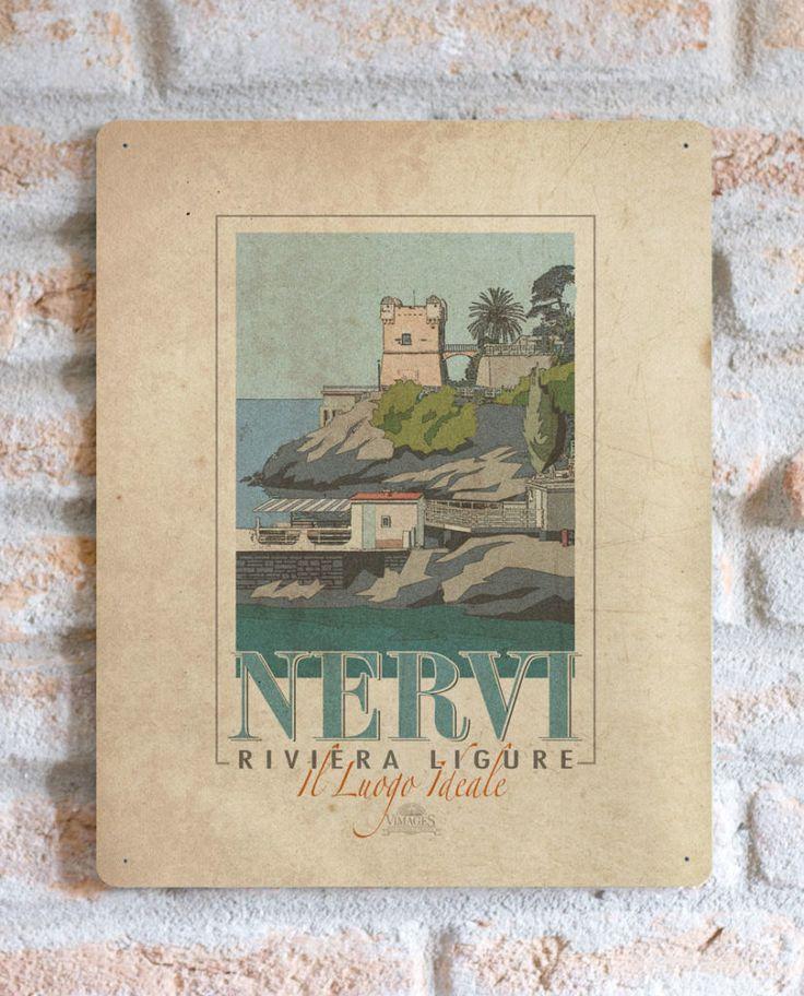 Nervi Riviera Ligure  | TARGA | Vimages - Immagini Originali in stile Vintage