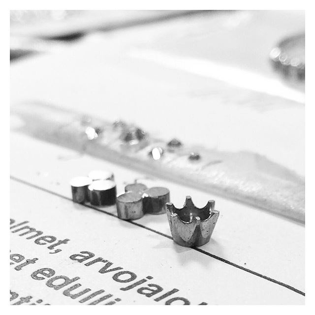 Something special for New Years Eve... #finnishdesign #handmadejewelry #oonaarmiajewelry