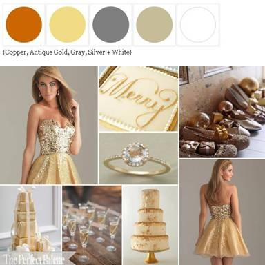 The Perfect Palette. Color palette possibilities for your wedding and a place