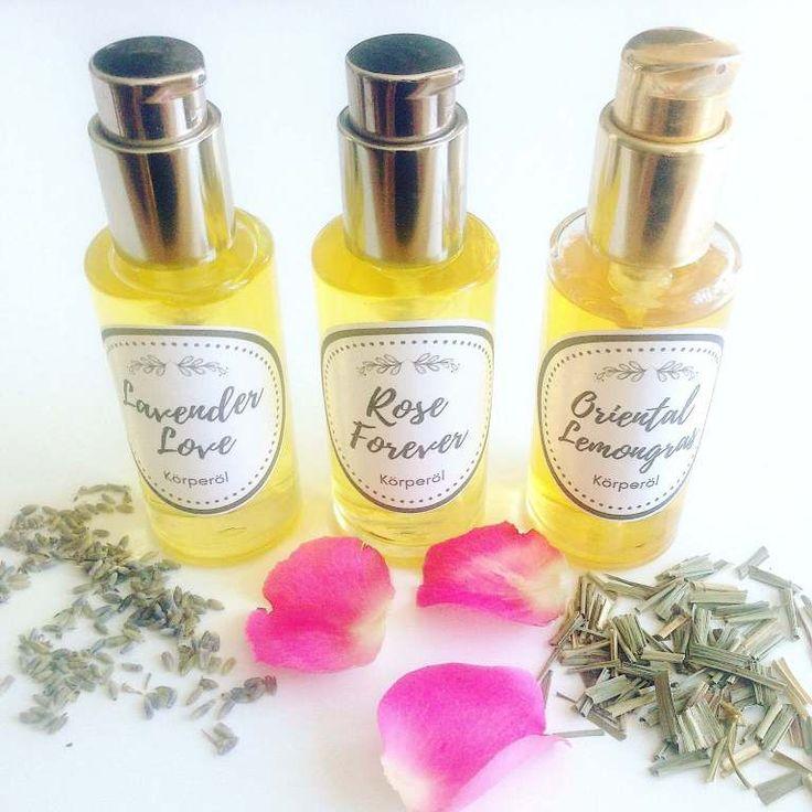 Duftende Körperöle mit ätherischen Ölen selber machen