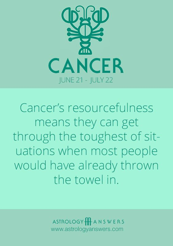 Cancer Daily Horoscope - Astrology