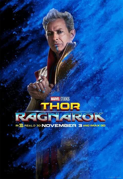 Grandmaster - Thor: Ragnarok, Character poster