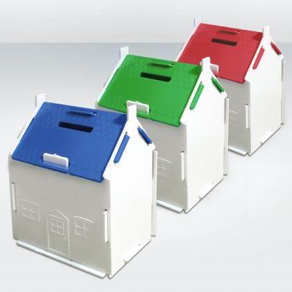 Money Box, House Shaped