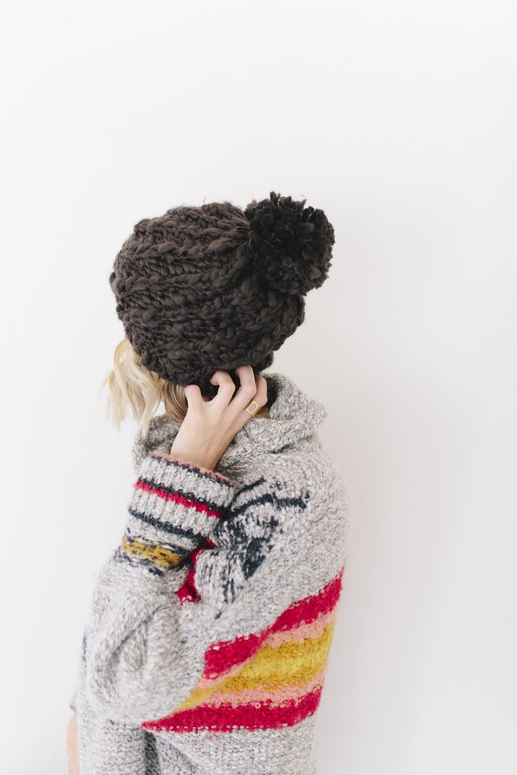 The Mitzi was a best seller from last year and has been brought back in multiple colors. This beanie is made from 100% acrylic and is our softest beanie yet!
