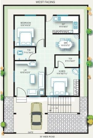 Image result for 20x30 house plans   20x40 house plans