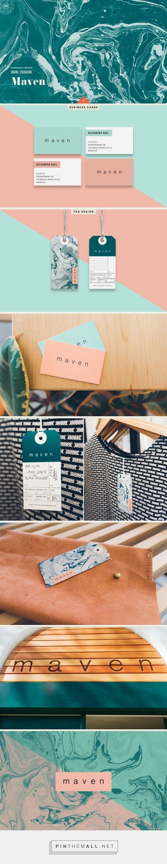 Maven Fashion Boutique Branding by Cody Small