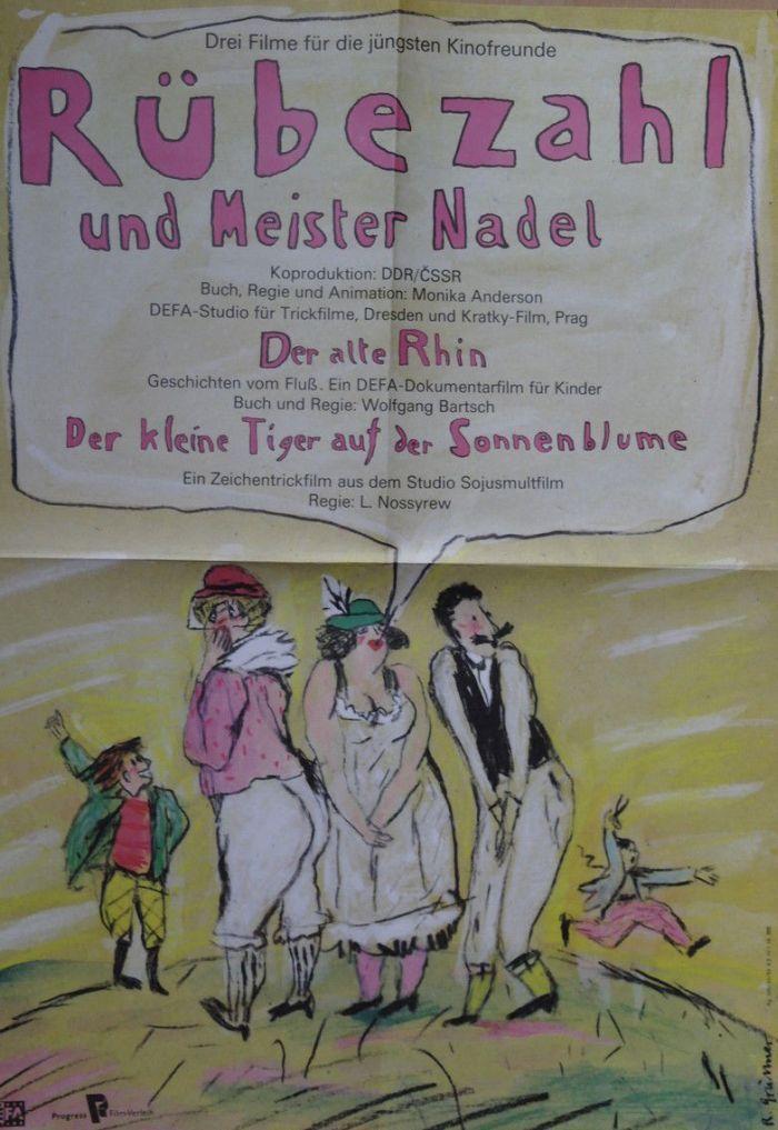 "Ostfilm - Rübezahl und Meister Nadel"" (1981 - 1983) Directed by Monika Anderson Countries of Production: Czechoslovakia 🇨🇿/East Germany #52FilmsByWomen"
