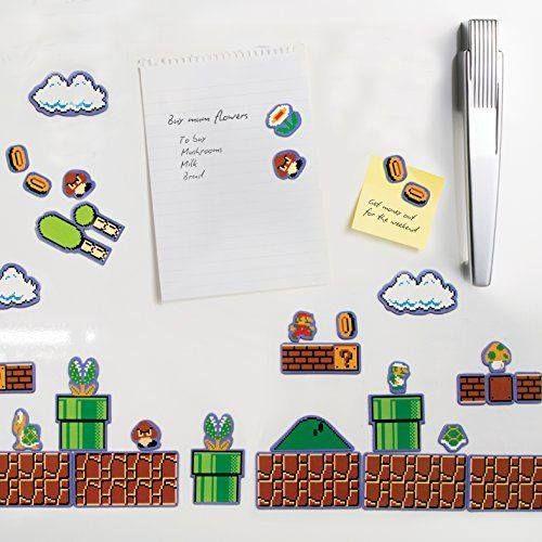 Imanes de nevera Super Mario Bros. http://www.milideaspararegalar.es/producto/imanes-de-nevera-super-mario-bros/