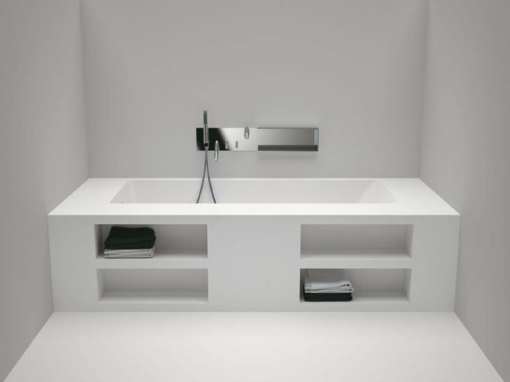 Aufsatz-Badewanne / rechteckig – CARTESIO by Benedini Associati Incoming search terms:badewanne