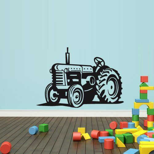 Wall Decal Vinyl Sticker Decals Bedroom Nursery Boys Art Decor Tractor Loader Bulldozer Kids (Z2650) StickersForLife http://www.amazon.com/dp/B00KINLS00/ref=cm_sw_r_pi_dp_CBUfvb01KAQ6P