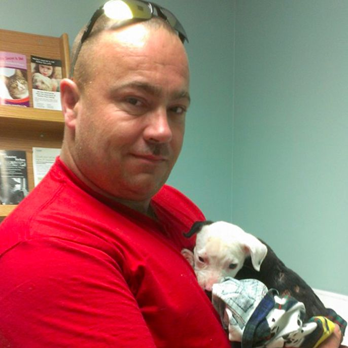 Puppy Badly Burned In Shed Fire Grows Up To Become Firefighter Himself