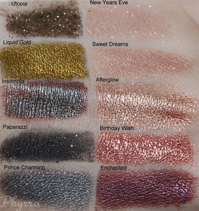 These new Makeup Geek Pigments swatches @Phyrra has up are SICK! #eyeshadow #makeup #beauty