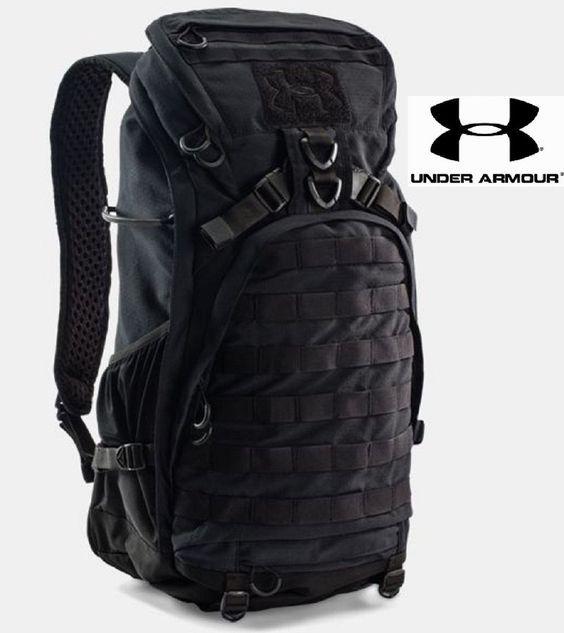 Under Armour Black Storm Heavy Assault Pack Framed MOLLE Tactical Backpack  Bag 8332e6d1c7