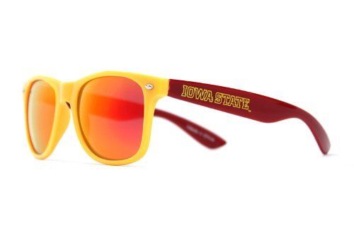Society43 NCAA Sunglasses - Iowa State Cyclones Gold Cardinal Wayfarer Style Society43. $20.00