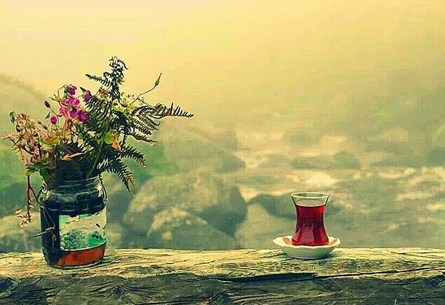 Bir bardak çay ve huzur...