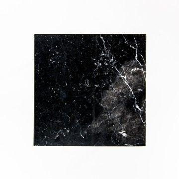 Marble & Steel Coffee Table