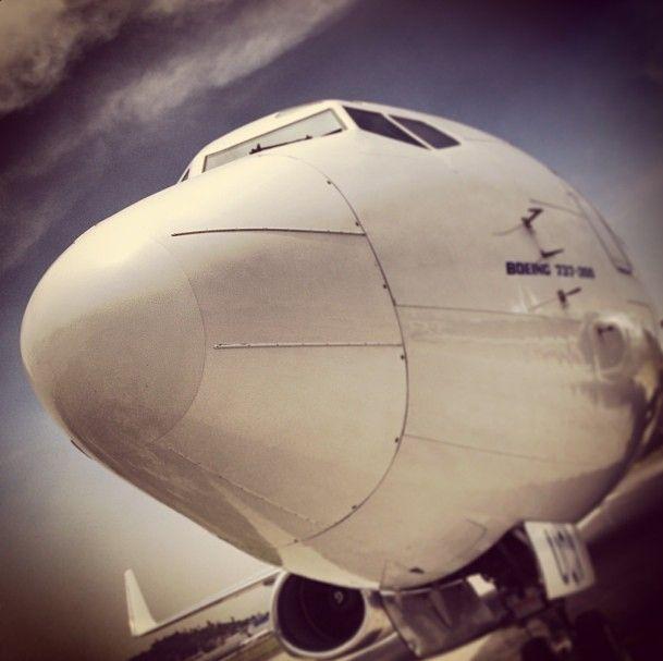 ¡Listo para volar! #Magnicharters #Avión #Boing737 #Plane