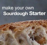 All kinds of sourdough recipes, tips for getting started, etc.
