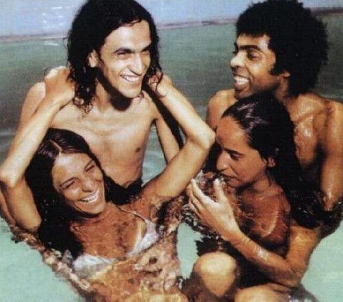 Gal Costa, Maria Bethania, Gilberto Gil e Caetano Veloso