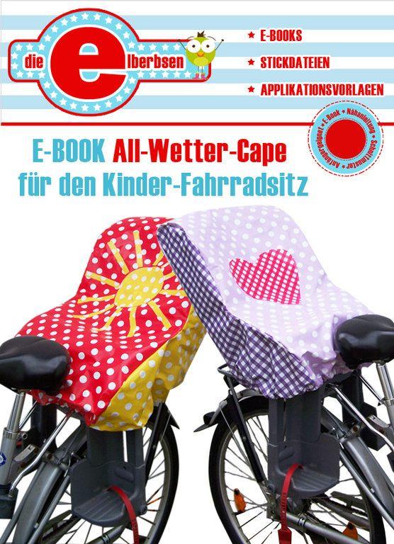 Regencape für den Kinderfahrradsitz - www.die-elberbsen.de