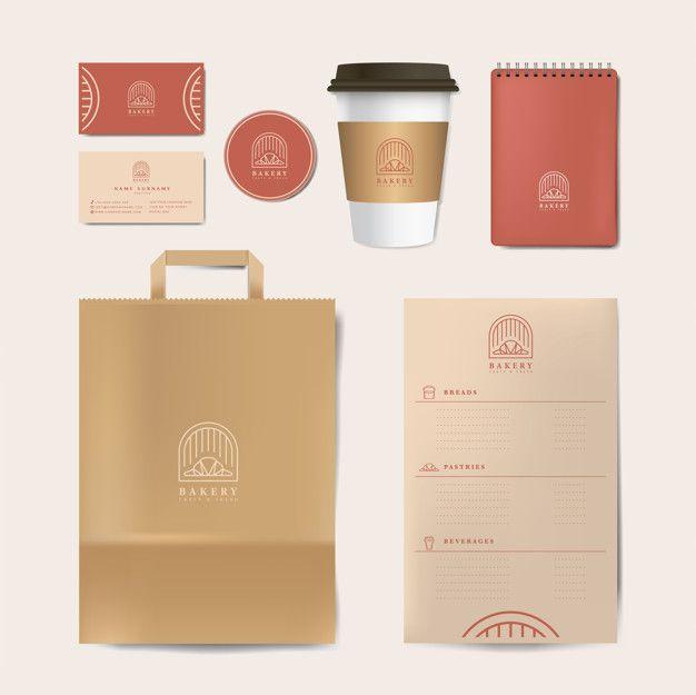 Download Download Paper Branding Mockup Vector Set For Free Branding Mockups Free Business Card Mockup Vector Free
