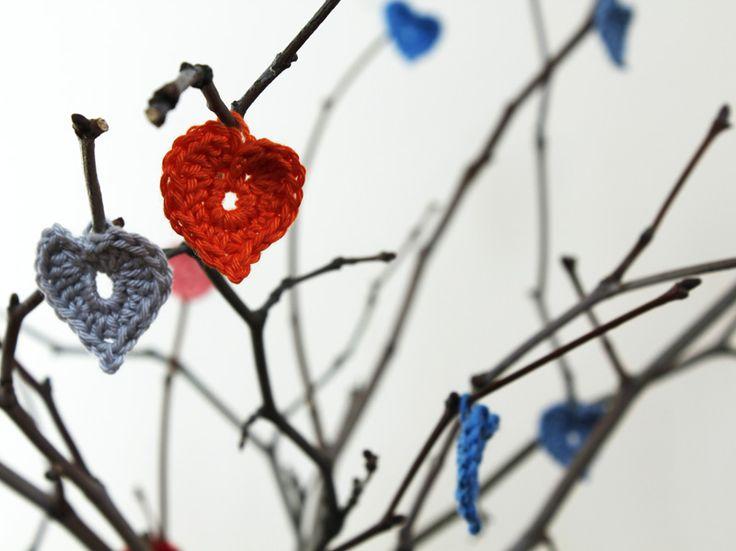 Crochet little heart