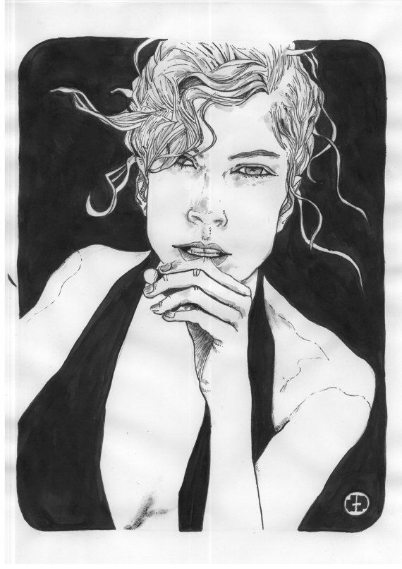Marie 1 by dpainting on Etsy, €59.00