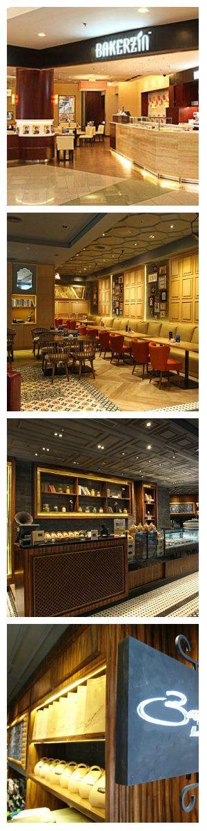 Световое оформление кафе Bakerzin от JP Concept