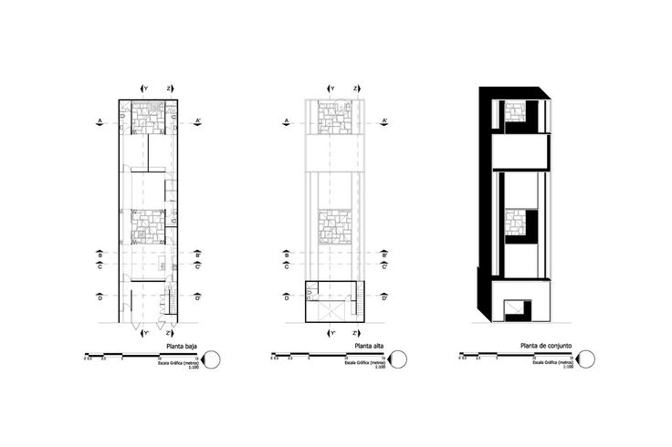 Gallery of Two Courtyards House / Muñoz Arquitectos - 12
