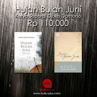 buku-plus.com: Paket Buku Hujan Bulan Juni Karya Sapardi Djoko Da...