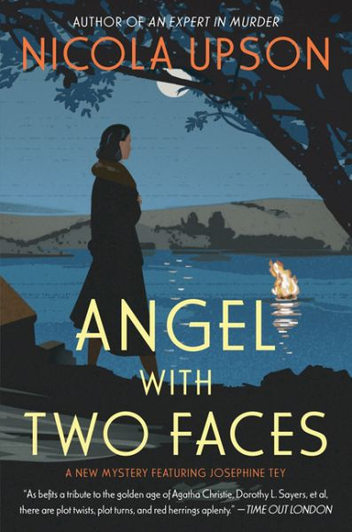 Real-life British mystery writer Josephine Tey returns as a fictional sleuth in Angel with Two Faces—the second atmospheric mystery in Nicola Upson's wonderfully inventive series. In this riveting sequel to Expert in Murder, Tey, in league with intrepid policeman Detective Inspector Archie Penrose, is called upon to help unravel a dark and perplexing crime at a Cornwall country house and backstage at a local theater. Cote: PR 6121 P76A5 2009 ANG