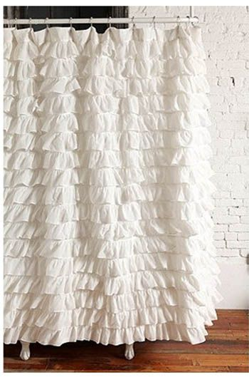 Sofas as art original exquisite envy inducing happy therapy and ruffle shower curtains - Waves of ruffles shower curtain ...