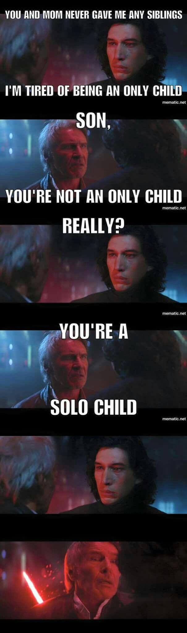 Han Solo dad joke                                                                                                                                                                                 More