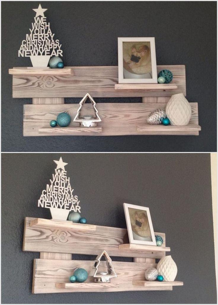 Wood Pallet Decorative Shelf