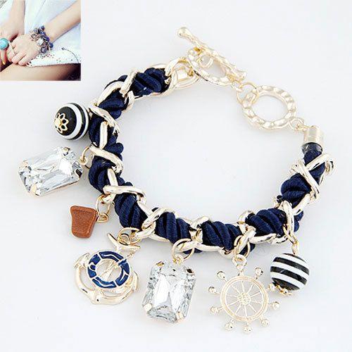 Якорь браслеты для женщины браслеты и браслеты мужчины ювелирные изделия бижутерии браслеты Mujer Pulseiras якорь аксессуарыкупить в магазине Jennifer Shew's Jewelry store(No Min Order Mix items)наAliExpress