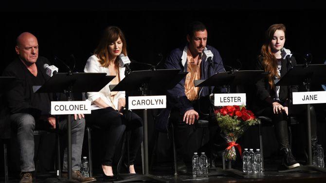 Reading of the American Beauty Script: Dean Norris, Rosemarie DeWitt, Adam Sandler