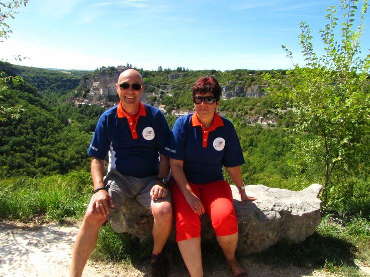 Paul en Marina Groeneveld in de Dordogne