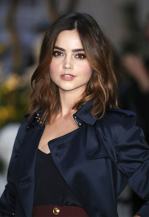 Jenna Coleman in Burberry