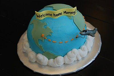 3D Globe Cake | A Little Something Sweet - Custom Cakes