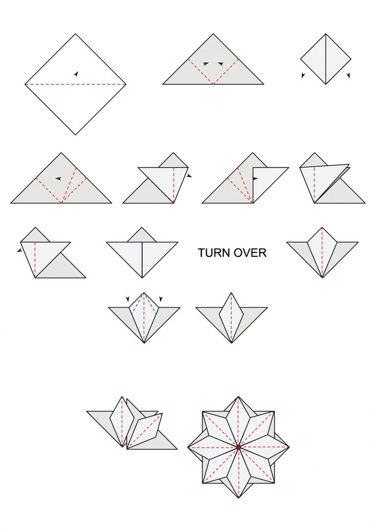 Free tea bag folding diagrams | cardmakingandpapercraft.com