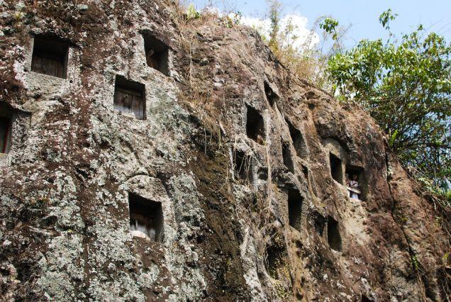 Tana Toraja: The Ancient Burial Sites of Lemo.