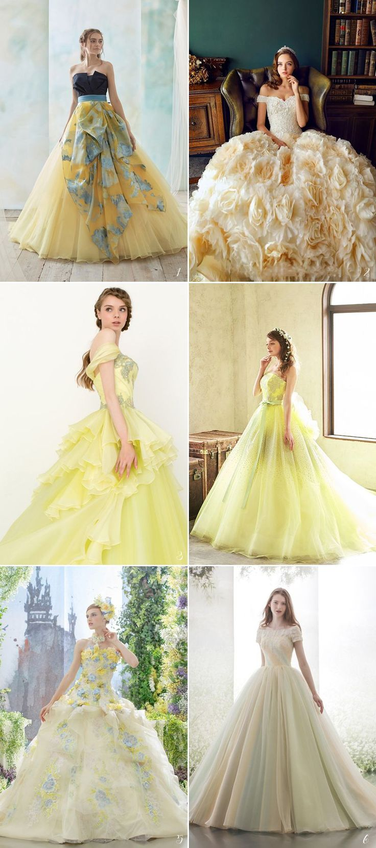Best 25 little girl wedding dresses ideas on pinterest flower 42 fairy tale wedding dresses for the disney princess bride ombrellifo Image collections