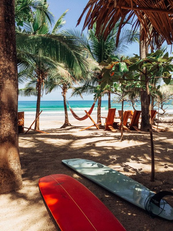 Lola's Playa Avellanas. Beach front restaurant Lola's at Playa Avellanas, Costa Rica.   Surfboards, surf art, surf photography, surfs up, waves, surfing, surfers, surf, Costa Rica surf, surfer girl, surf lifestyle, surf style, surf culture, surf sunset, s