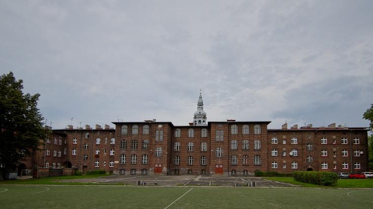 School in Nikiszowiec, Katowice, Poland
