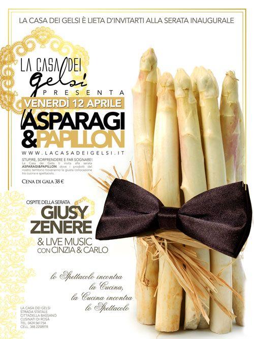 Cena di Gala Asparagi di Bassano con Giusy Zenere