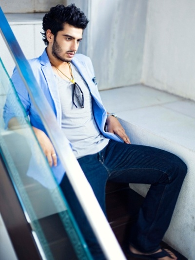 Arjun Kapoor:  I liked him in Ishaqzaade   but he still seems like a boy not a man... and kind of a spoiled, sulky boy at that.